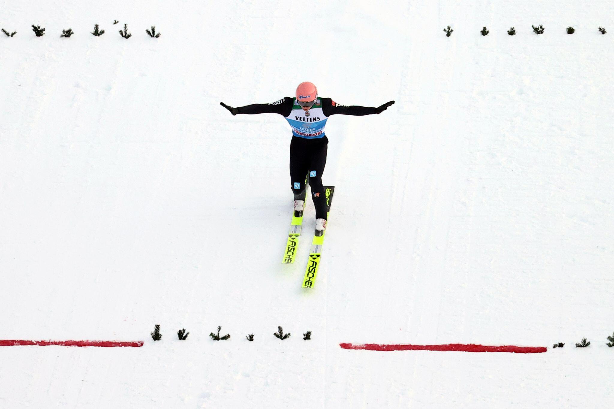 Bild zu Vierschanzentournee - Garmisch-Partenkirchen