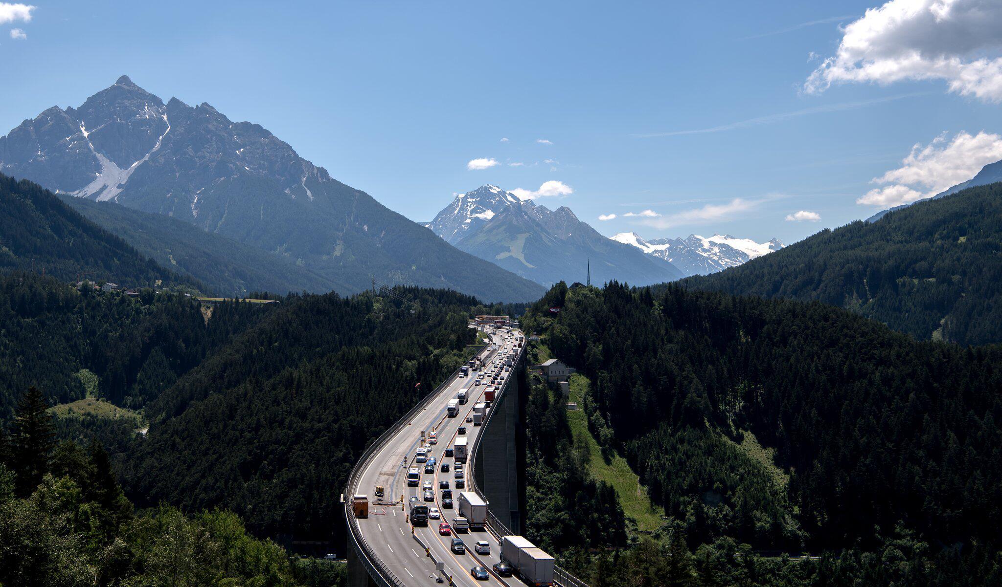Bild zu Brenner - Europabrücke
