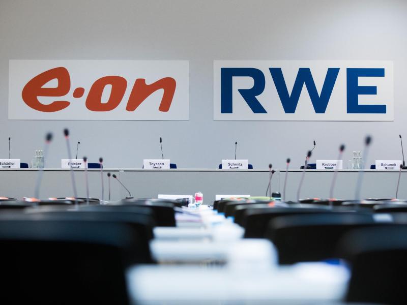 Bild zu Eon und RWE