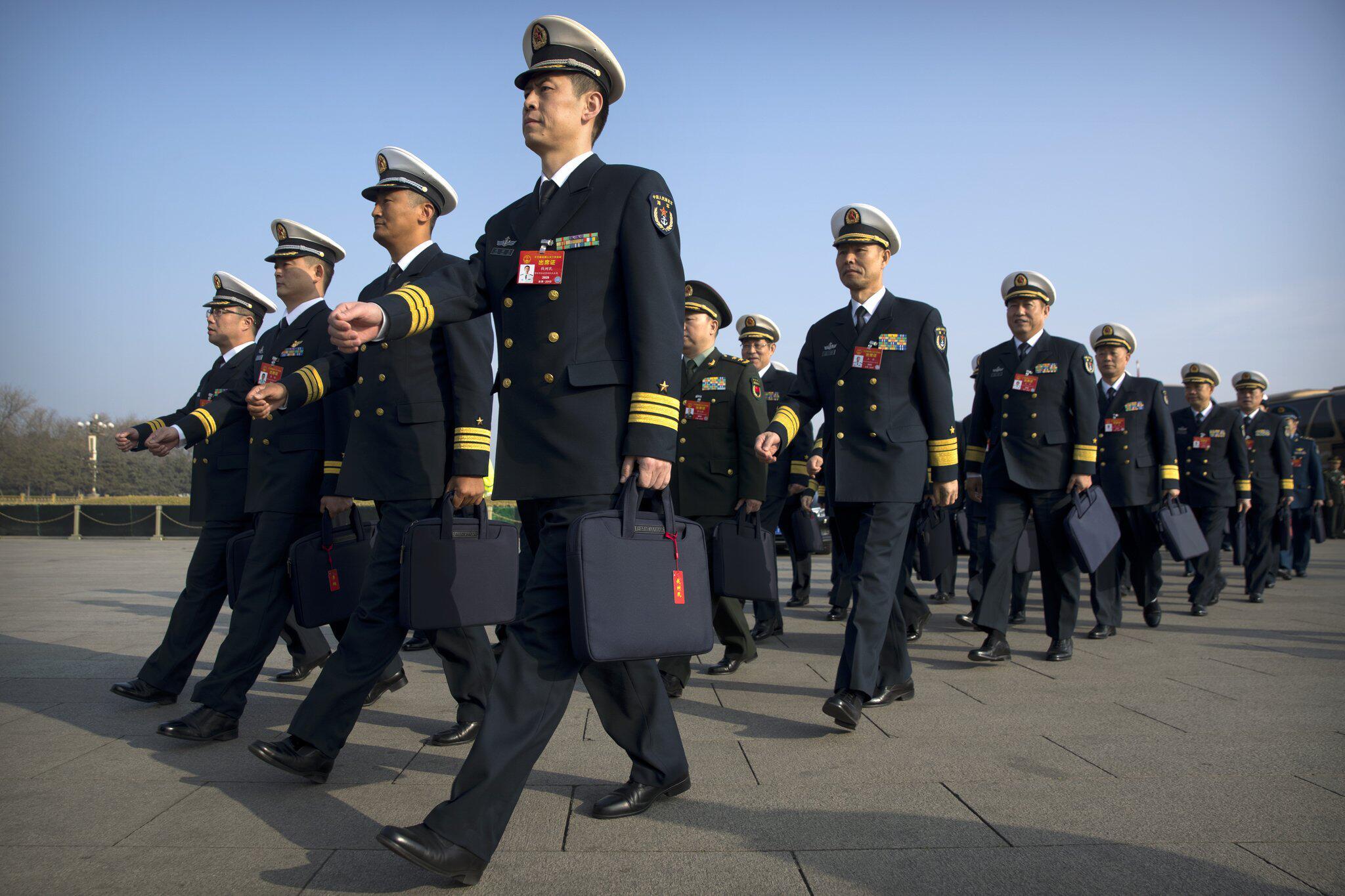Bild zu Vor Plenarsitzung des chinesischen Volkskongresses