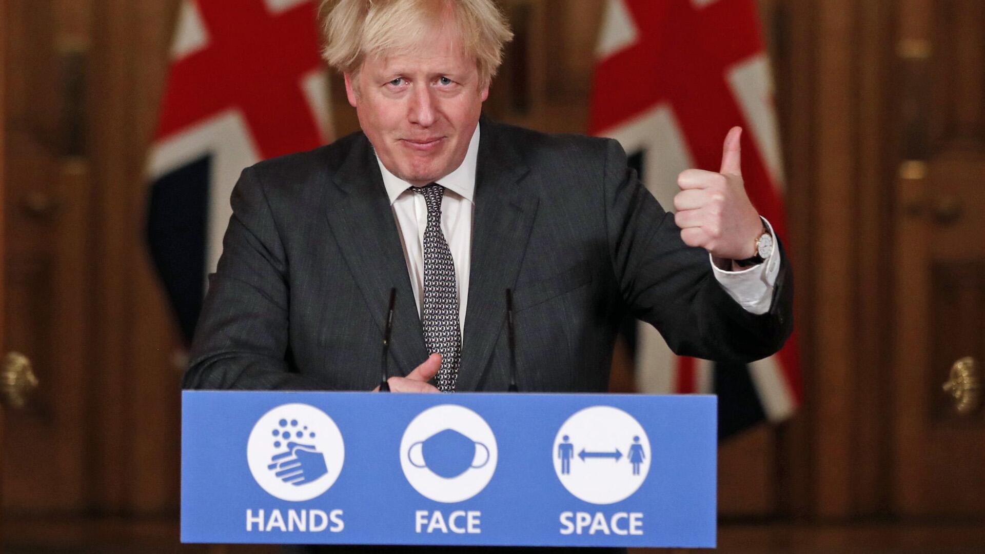 Bild zu Brexit - Boris Johnson