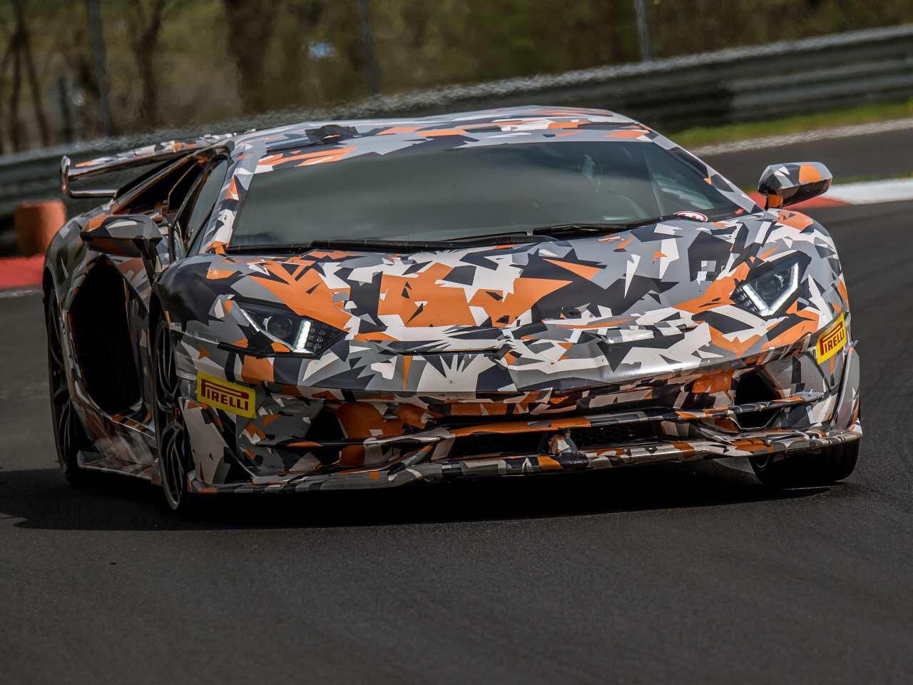 Bild zu Lamborghini Aventador SVJ
