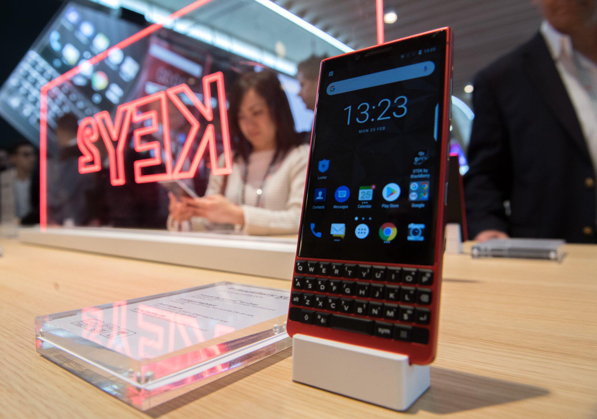 Bild zu Blackberry-Smartphone