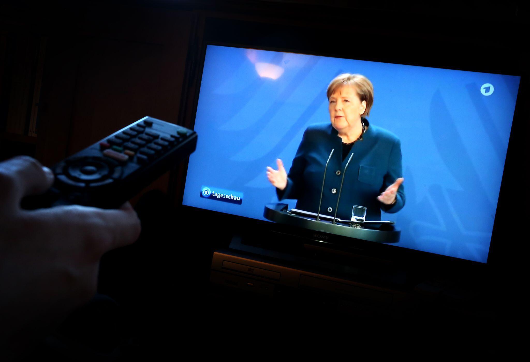 Bild zu Coronavirus - Statement Merkel