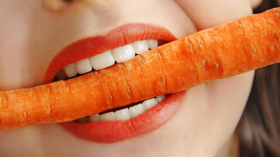 Karotten, Zahngesundheit