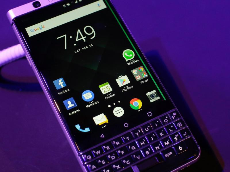 Bild zu Blackberry KEYone