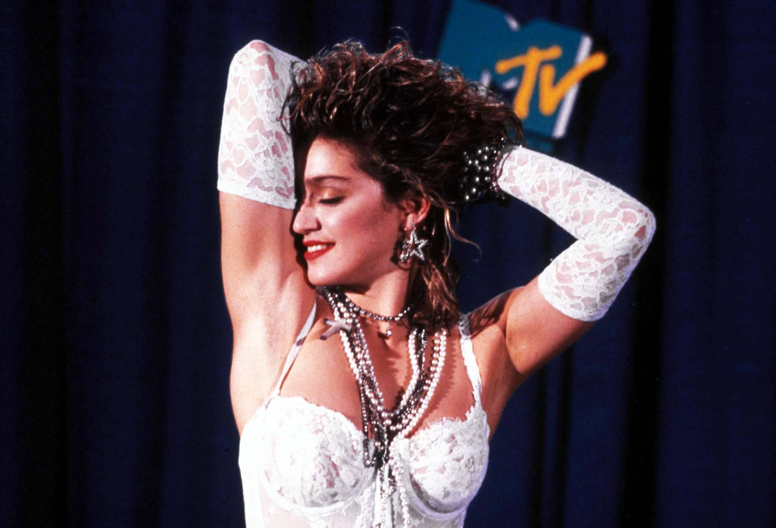 Bild zu Nacktbilder der 18-Jährigen Madonna werden versteigert