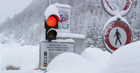 Strasse nach Zermatt gesperrt
