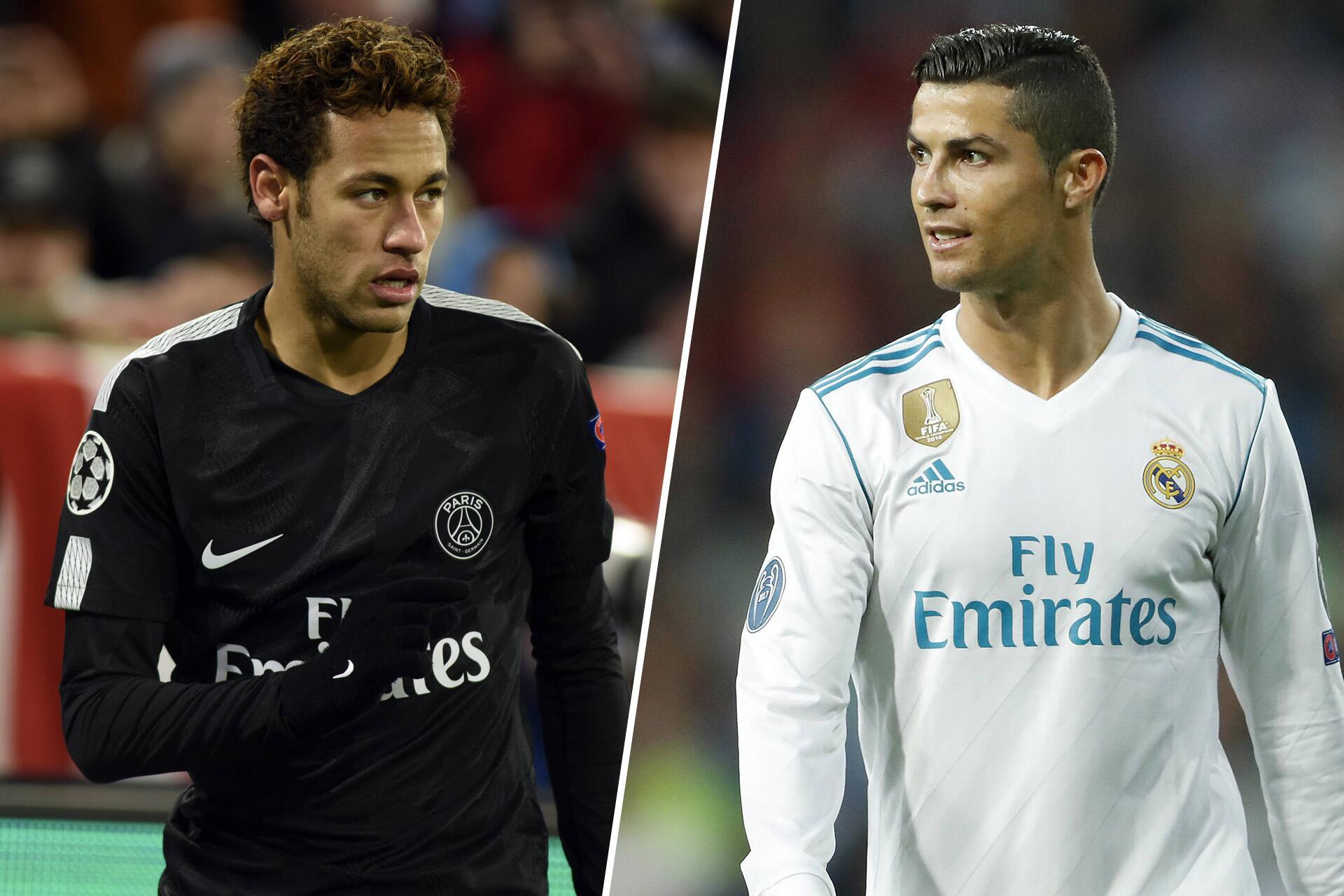 Bild zu Champion League, Cristiano Ronaldo, Neymar, Achtelfinale