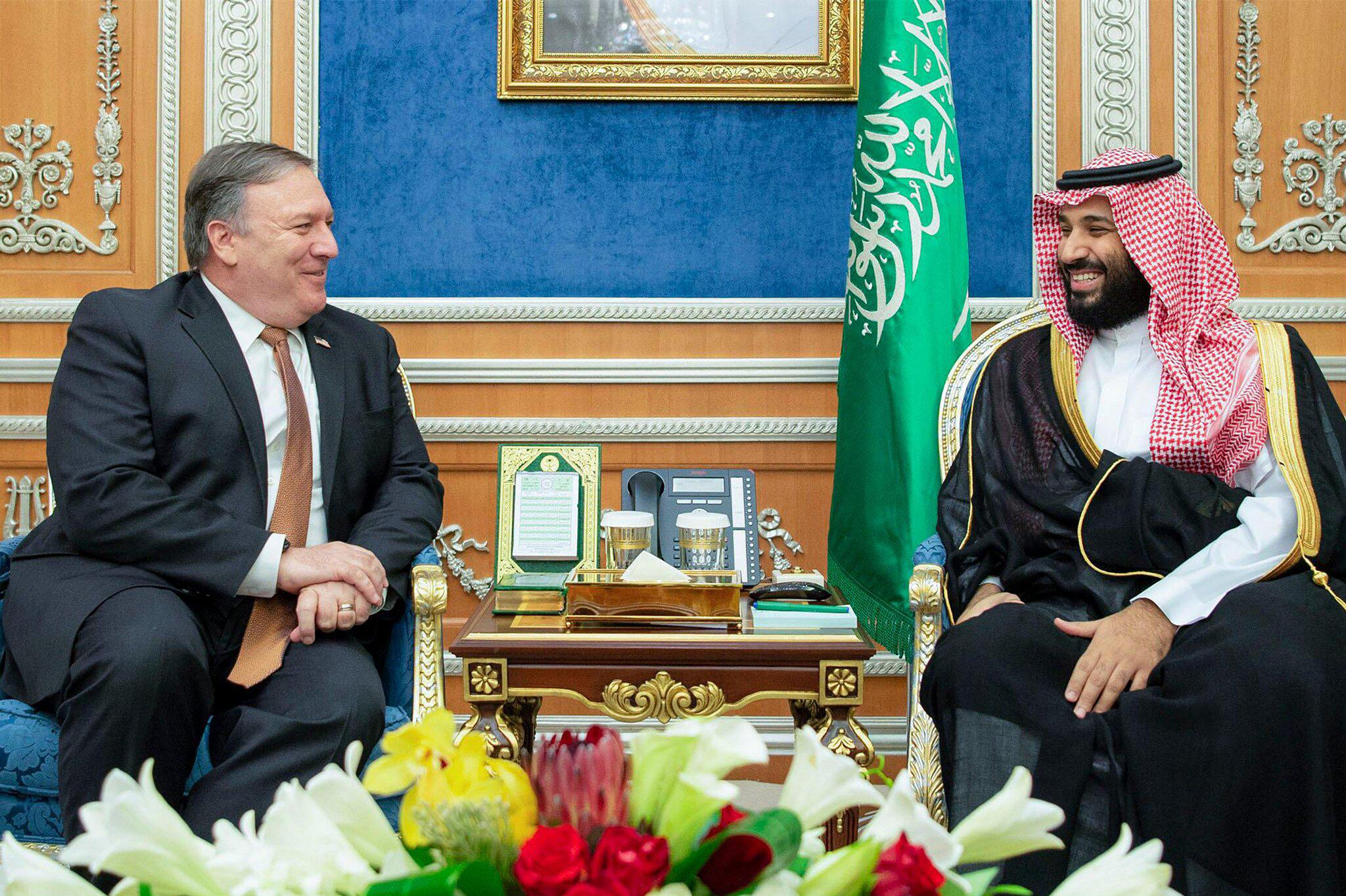 Bild zu Mike Pompeo in Saudi-Arabien