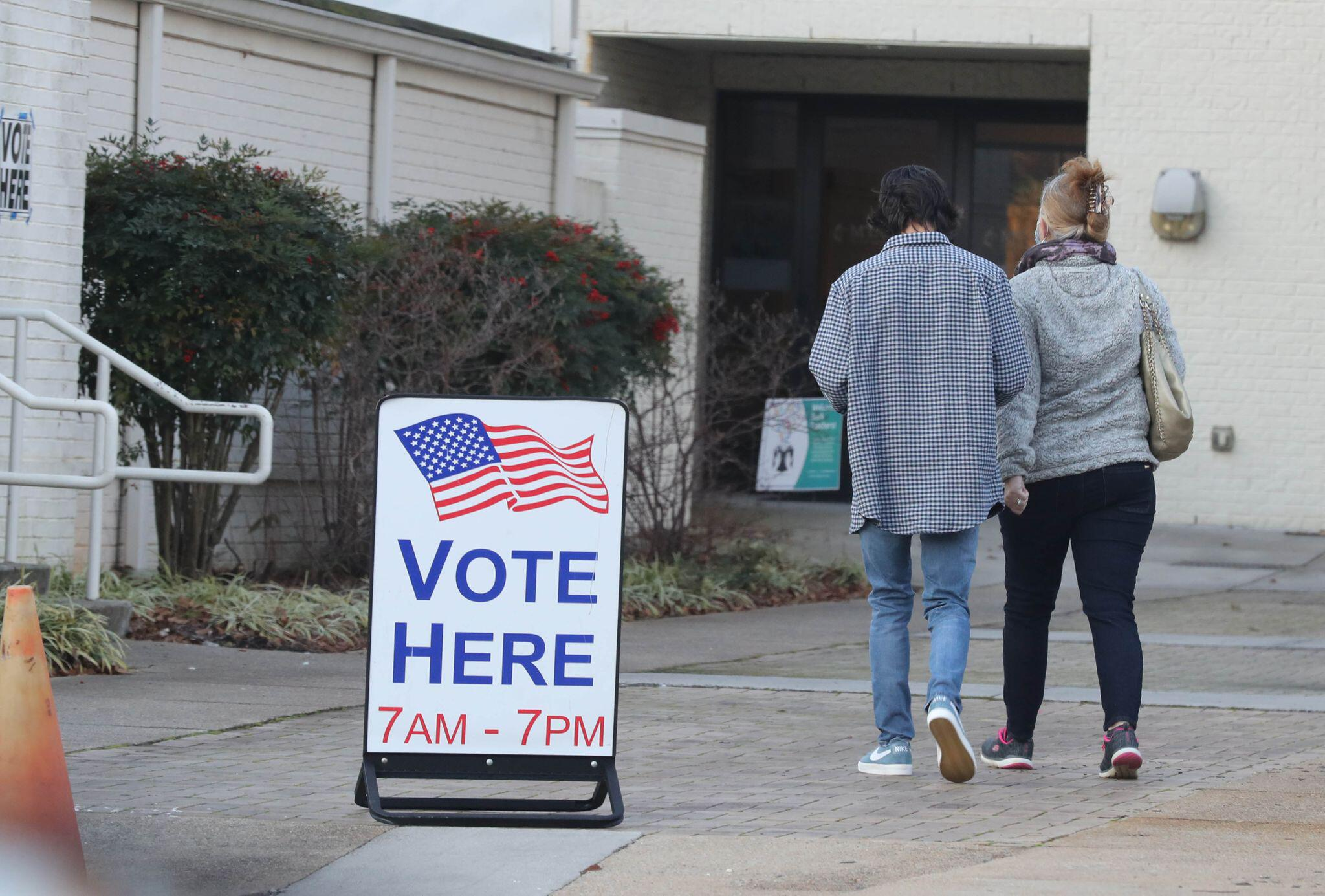 Bild zu Stichwahlen in Georgia