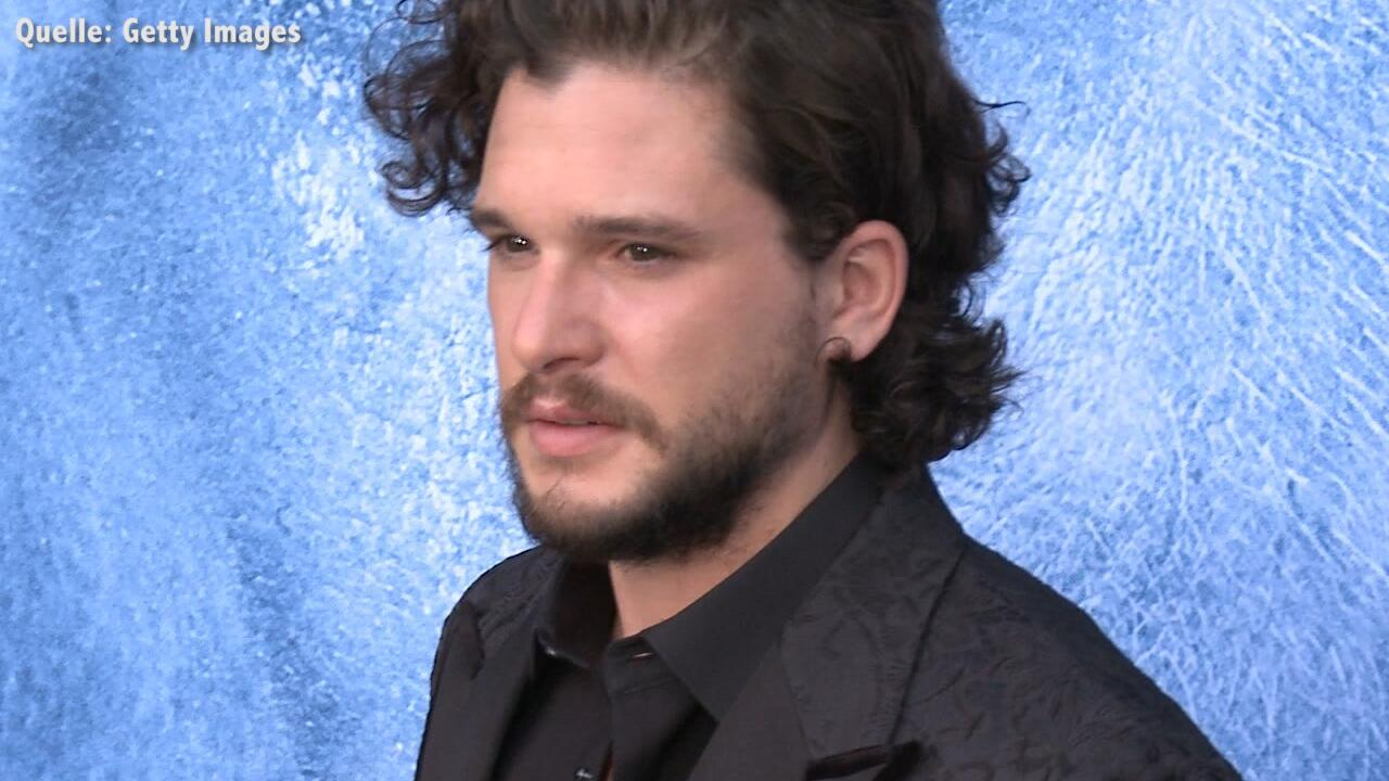 "Bild zu Kit Harington weint wegen Finale von ""Game of Thrones"""