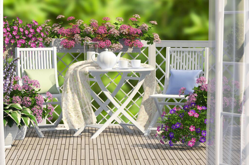 Urlaub Auf Balkonien Trendige Möbel Für Kleine Und Grosse Balkone