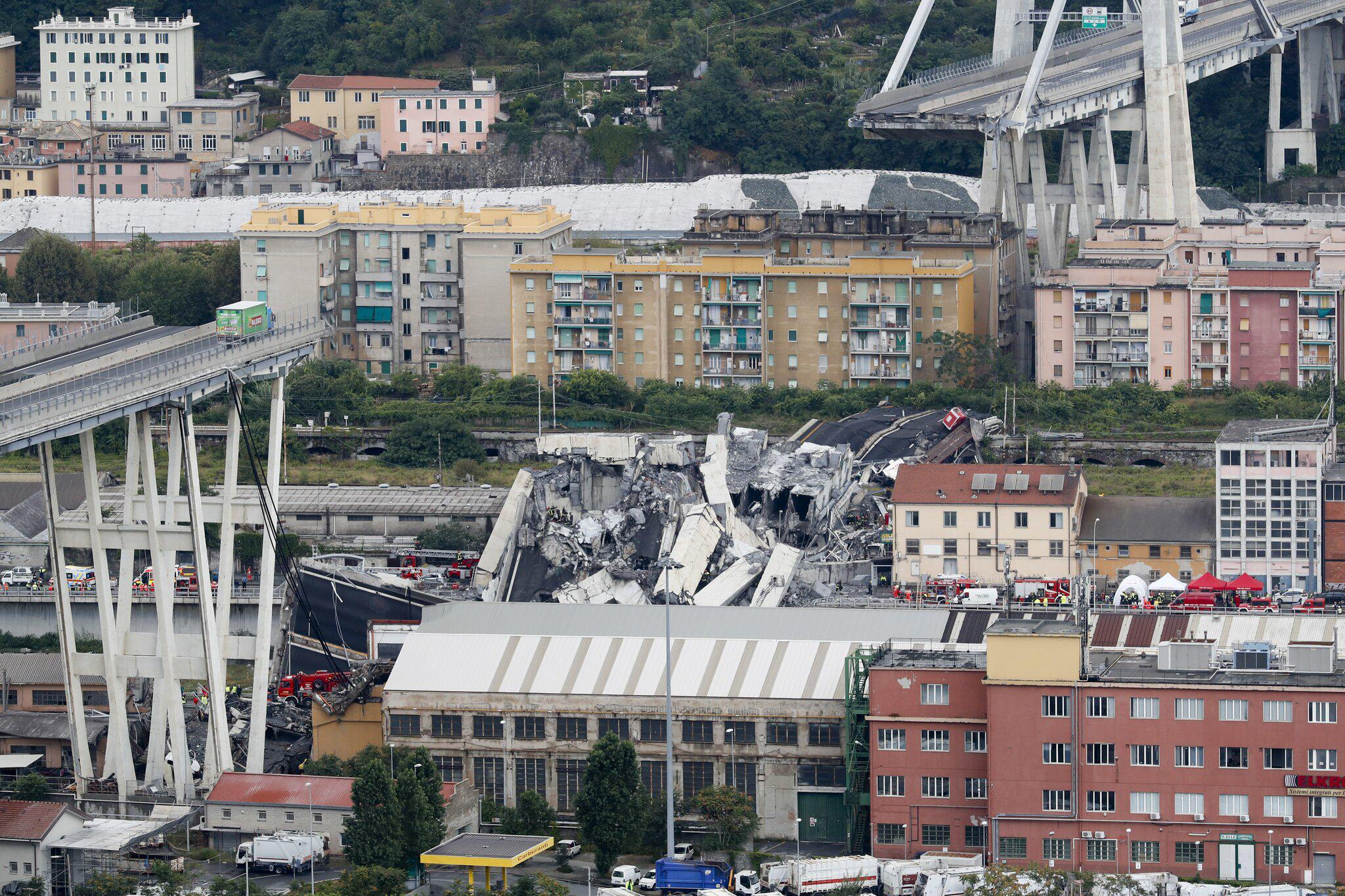 Genua Einsturz Autobahnbrücke