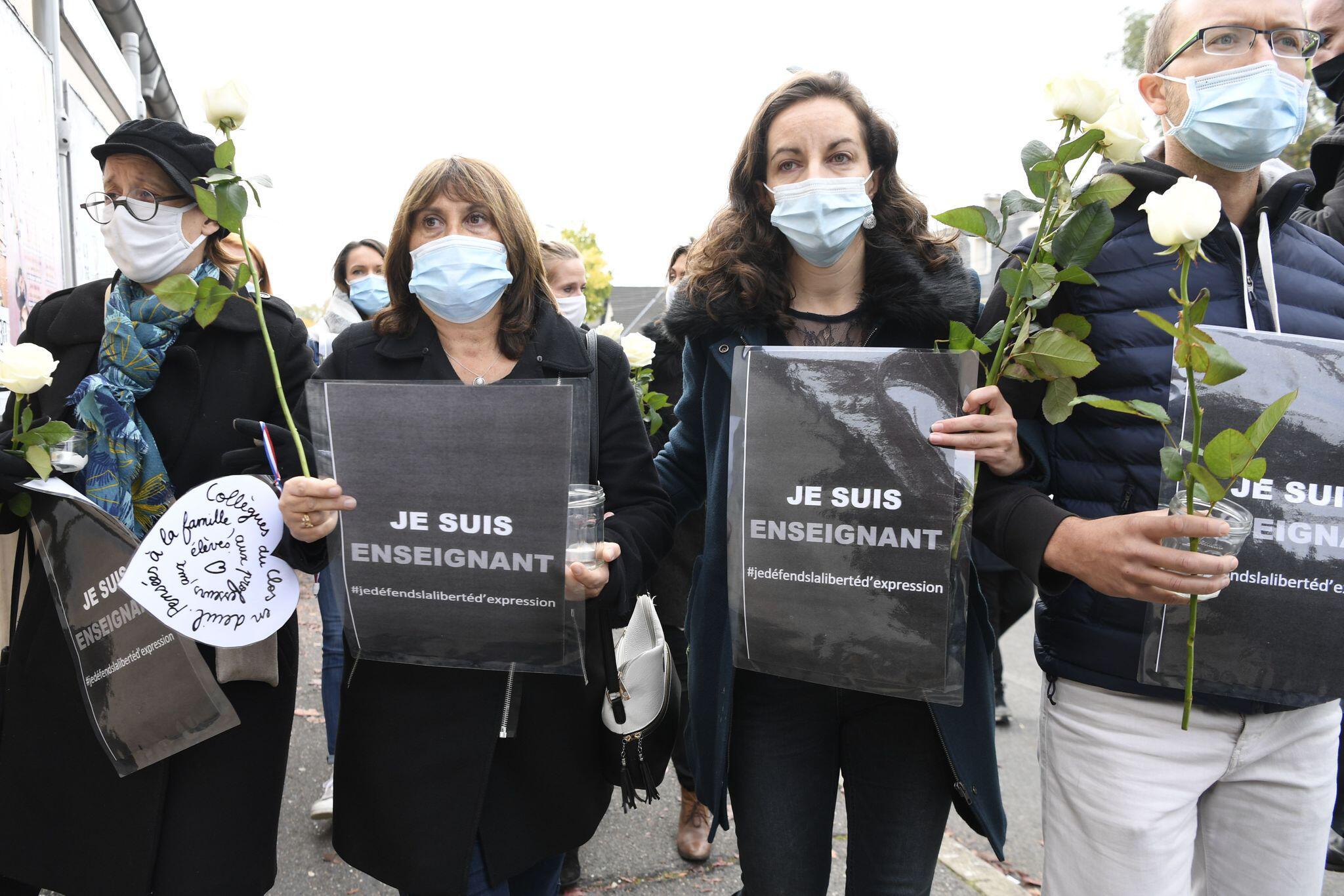 Bild zu Nach mutmasslichem Terrorakt auf Lehrer bei Paris