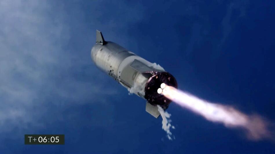 Test einer SpaceX-Rakete