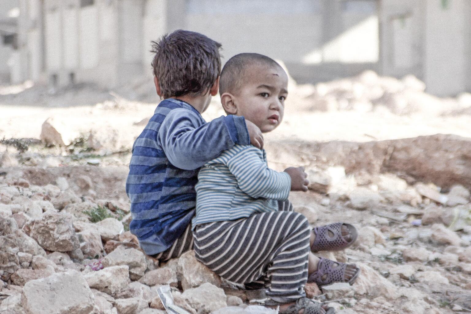 Bild zu Syrien, Kinder, Krieg