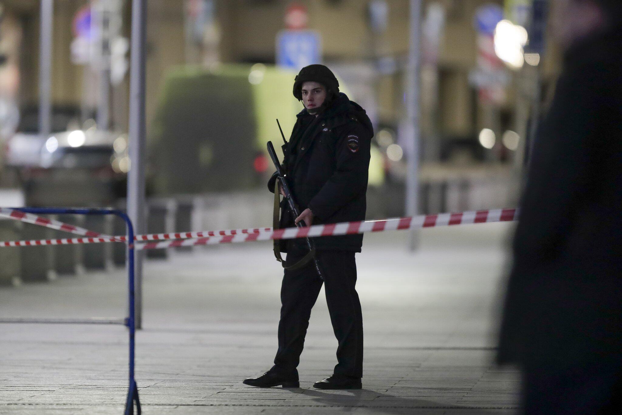 Bild zu Unbekannter schiesst an Geheimdienst-Zentrale in Moskau