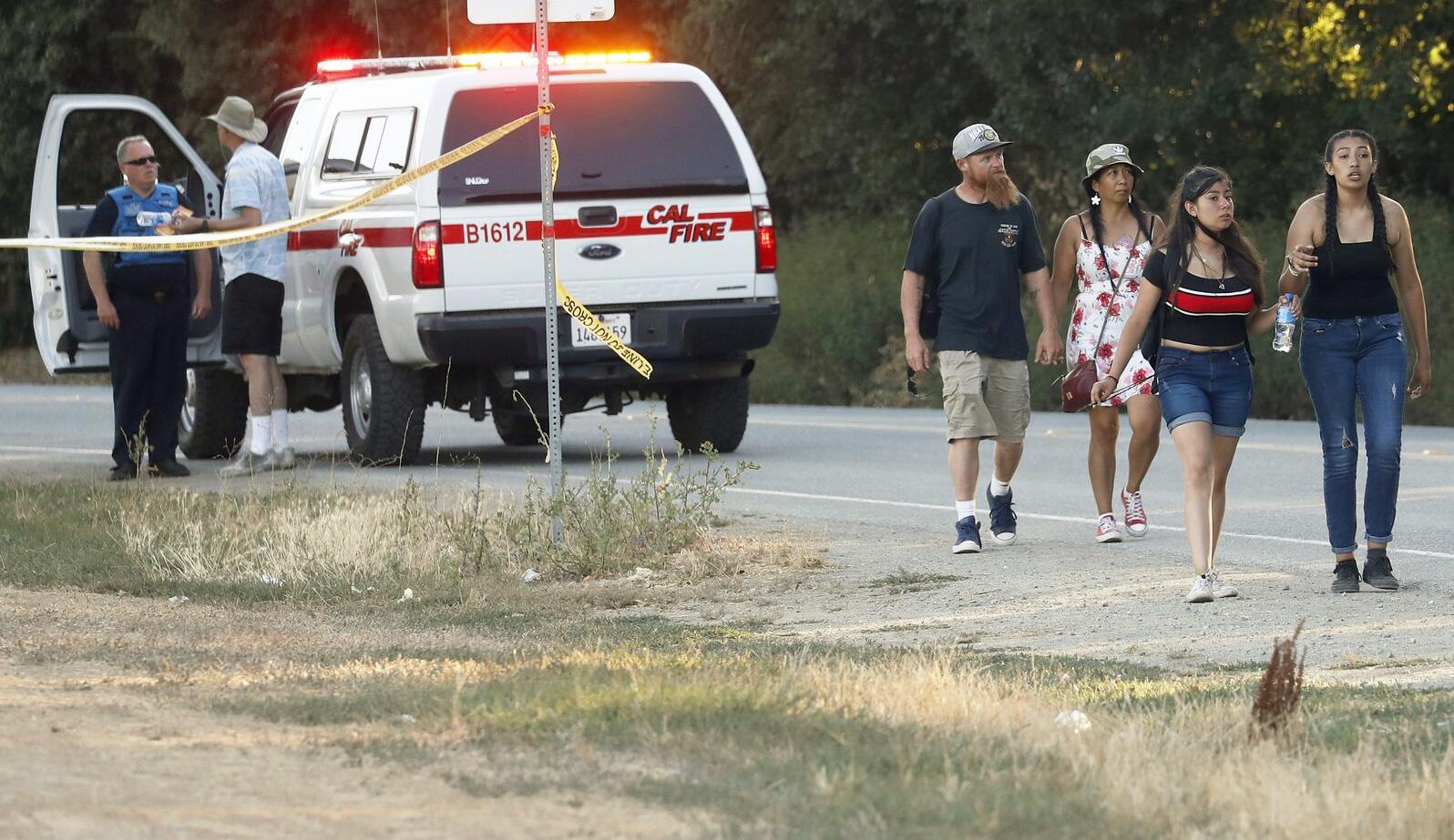 Bild zu Schüsse auf Volksfest in Kalifornien