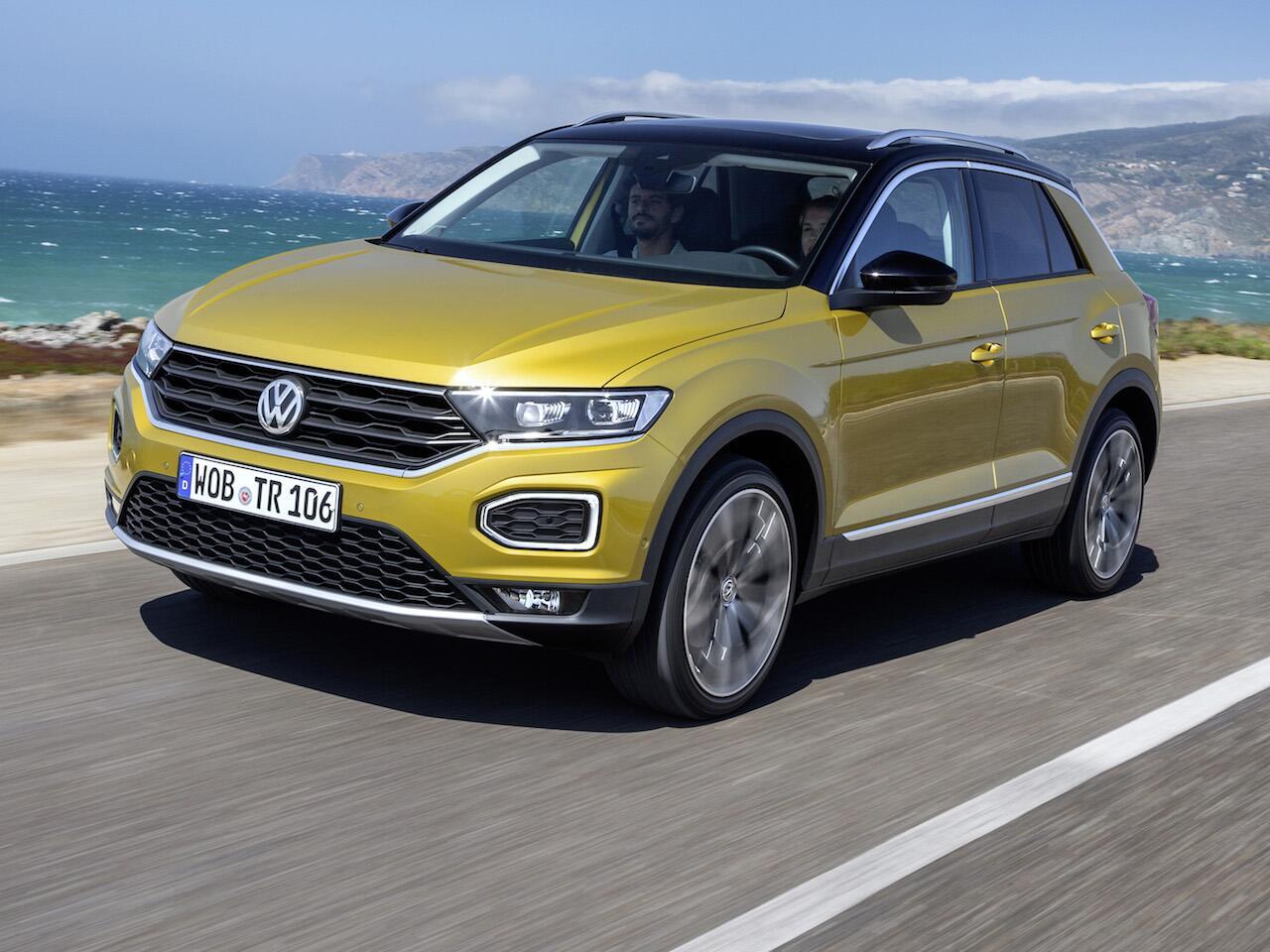 Bild zu Platz 10: Volkswagen T-Roc