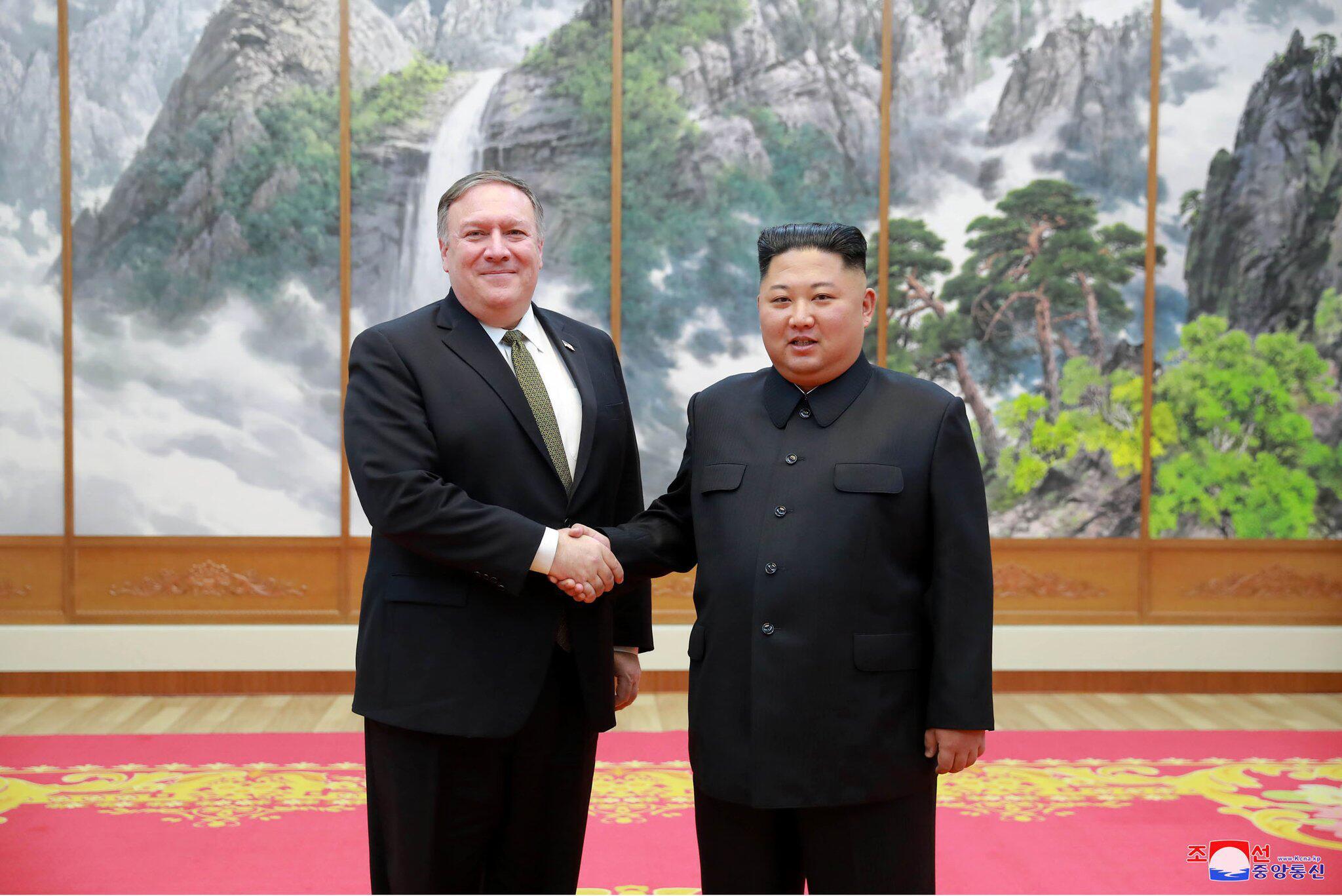 Bild zu Aussenminister der USA Pompeo besucht Nordkorea