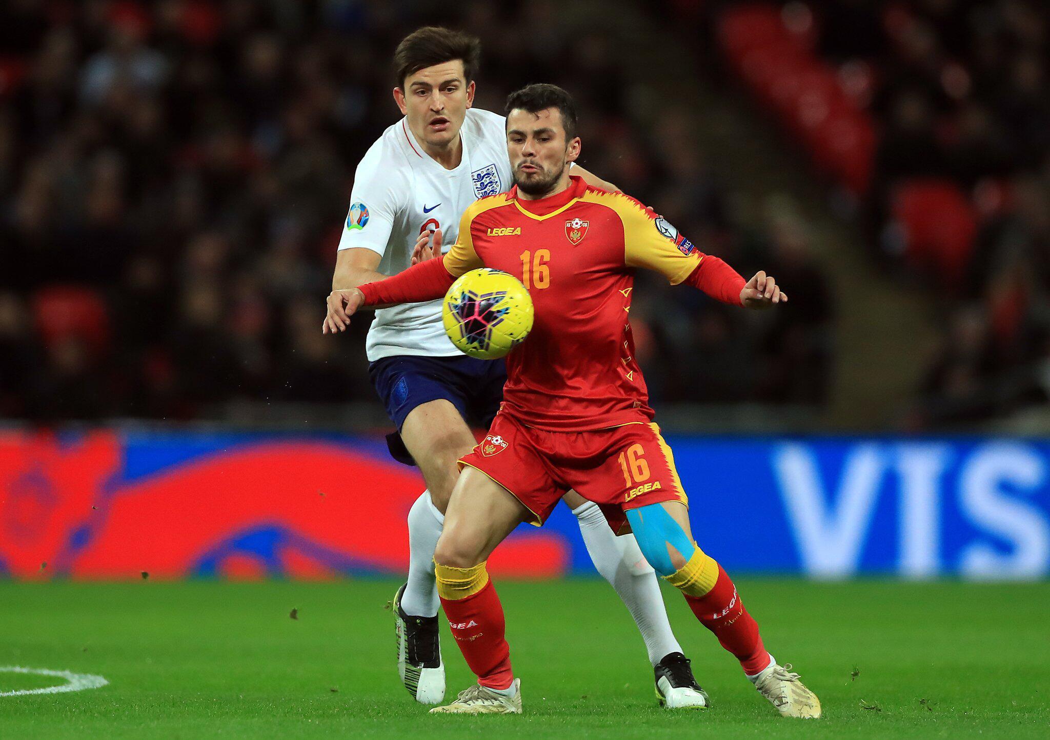 Bild zu England - Montenegro