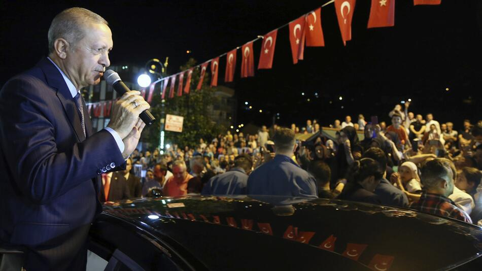 Türkei, Erdogan