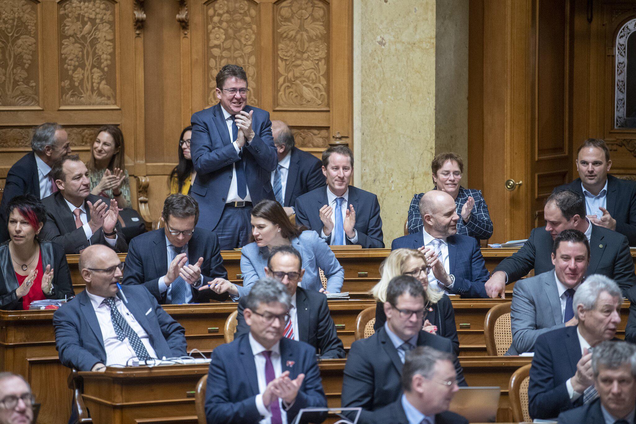 Bild zu Schweizer Parlament wählt Mitglieder der Regierung