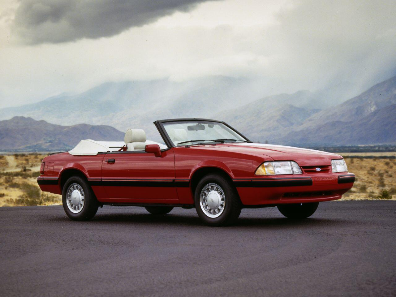 Bild zu 30-jähriges Jubiläum des Mustang: Die dritte Baureihe war ein voller Erfolg