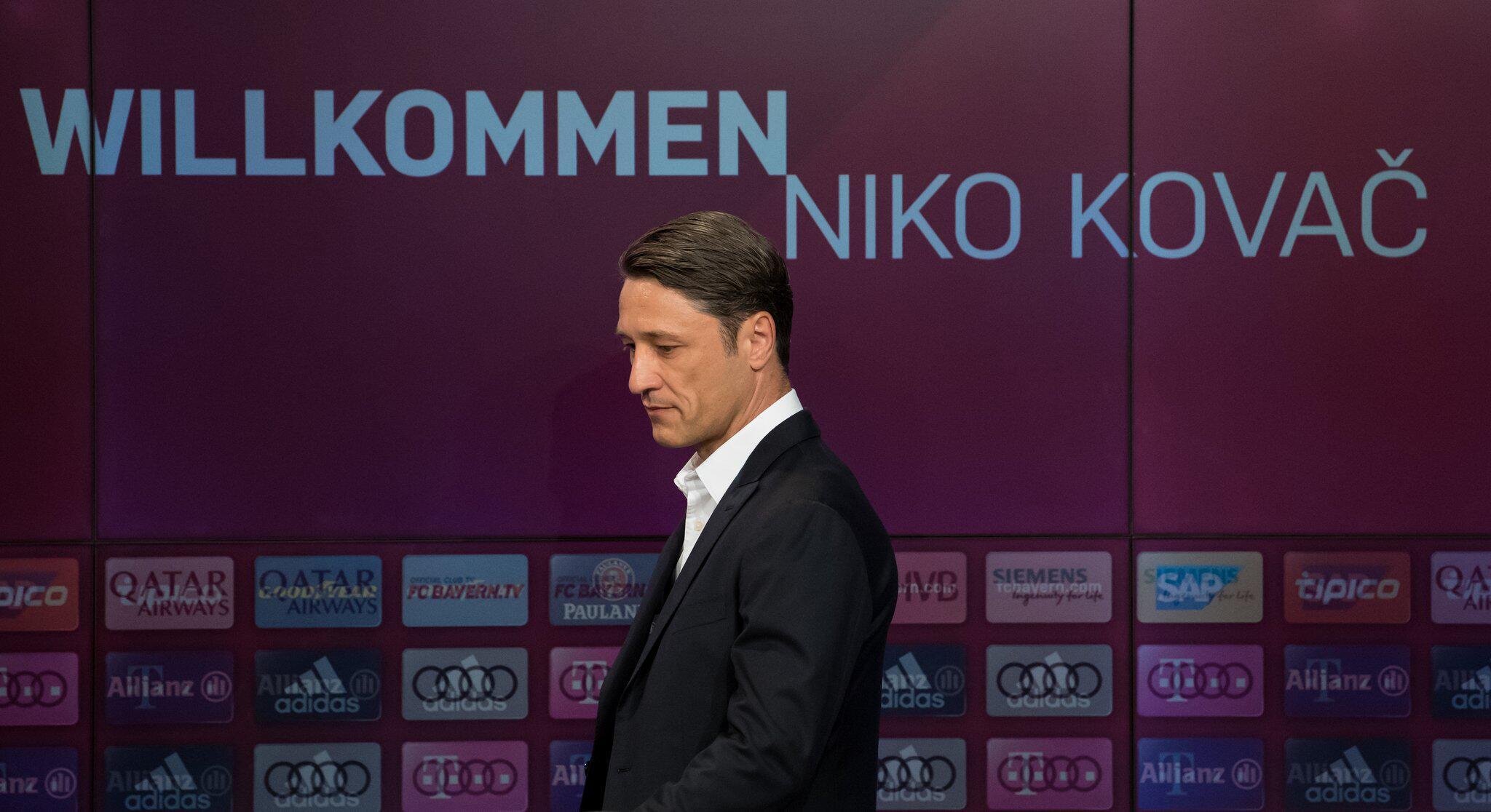 Bild zu FC Bayern Munich press conference
