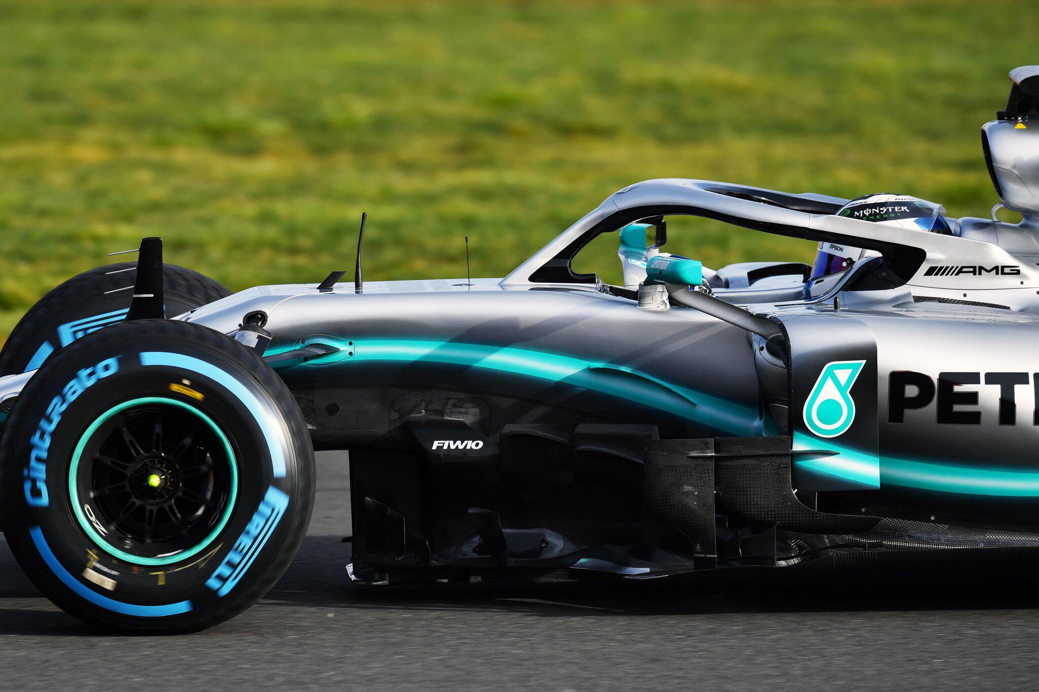 Bild zu Formel 1 - Mercedes Rennwagen W10