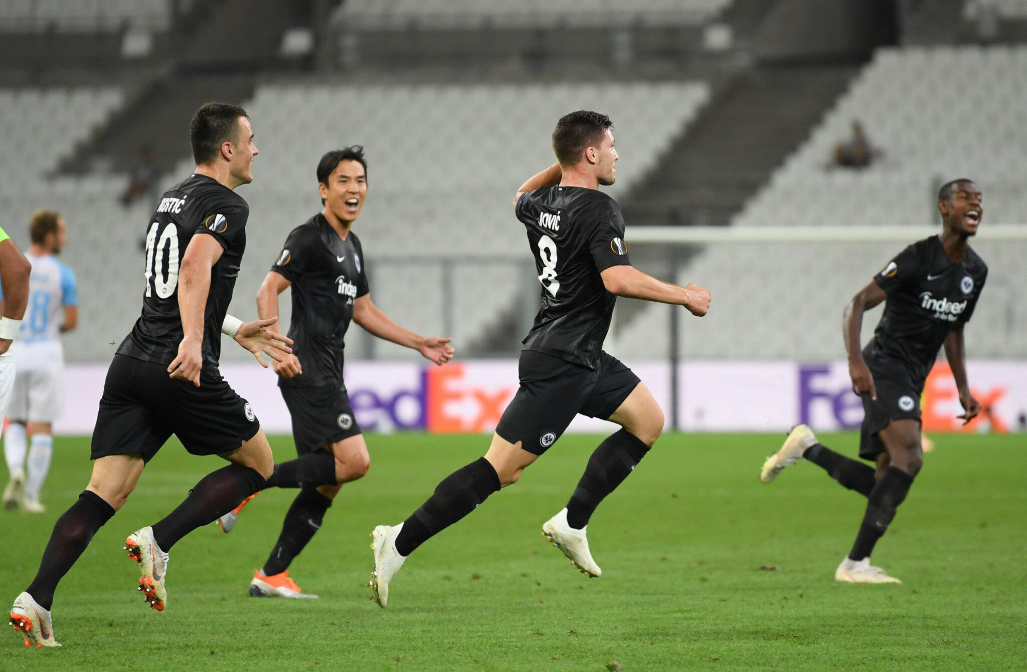 Bild zu Olympique Marseille - Eintracht Frankfurt
