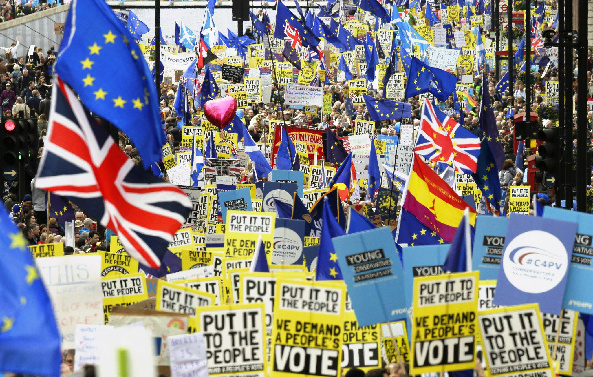 "Bild zu Brexit - ""People's Vote March"""