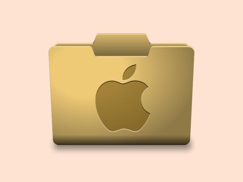 Bild zu Ordner bei macOS