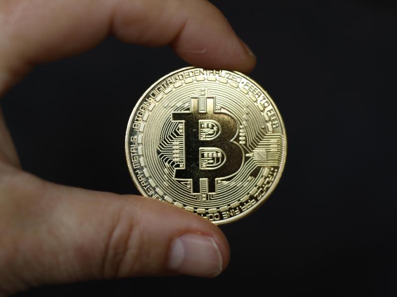 Bild zu Bitcoin Münze
