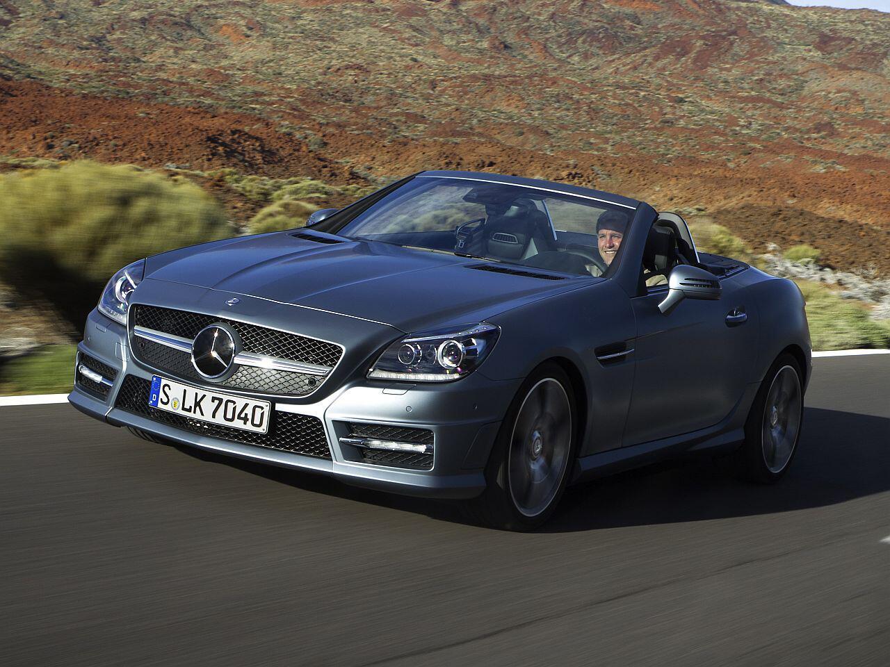 Bild zu Platz 4: Mercedes-Benz SLC