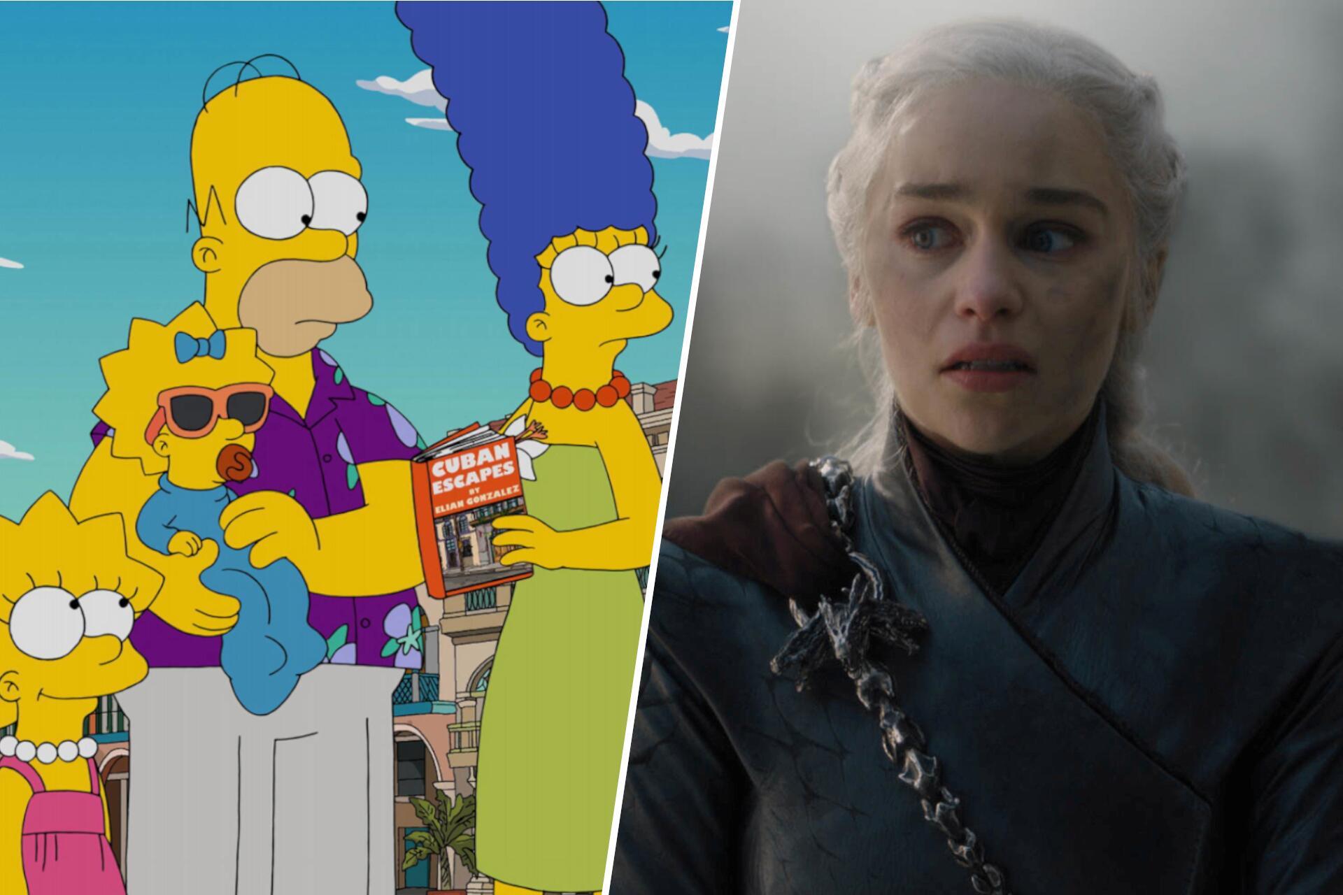 Bild zu Simpsons/ Game of Thrones