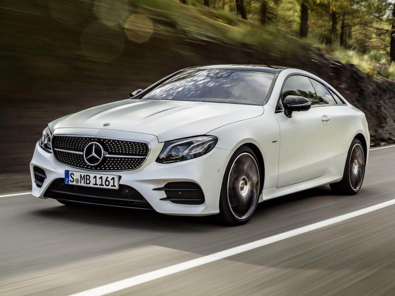 Bild zu Platz 1: Mercedes-Benz E-Klasse Coupé