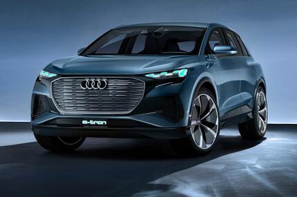 Kompakter Elektro-SUV mit Allradantrieb: Audi Q4 e-tron concept