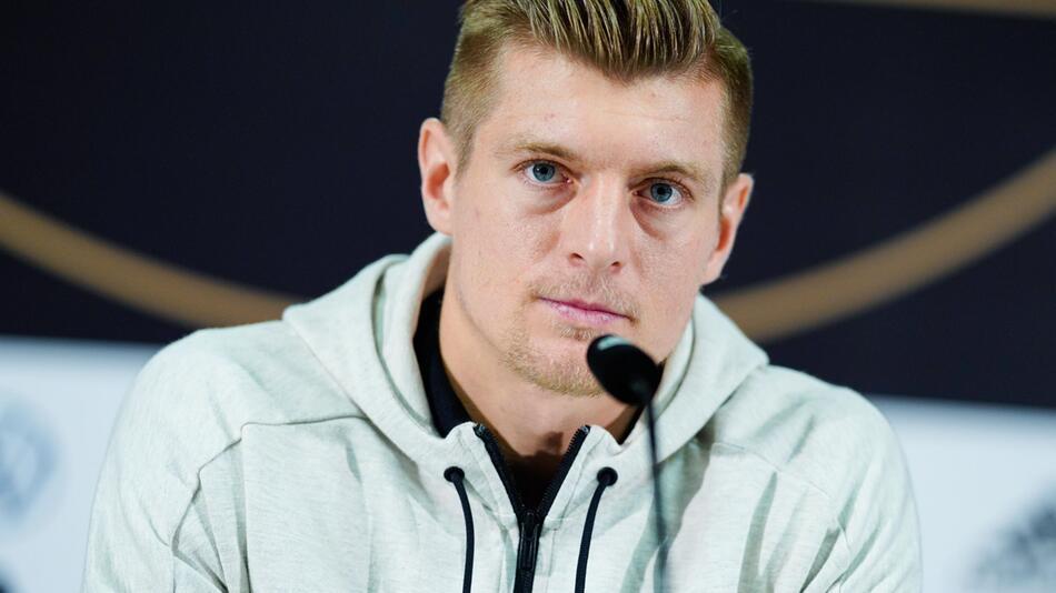 Fussball-Nationalspieler Toni Kroos