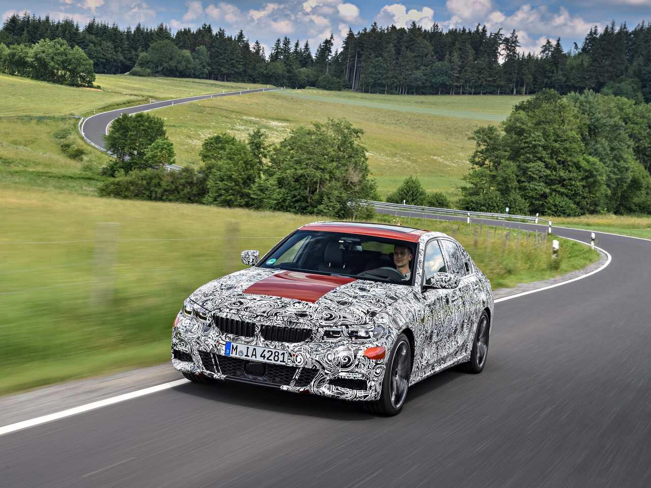 Bild zu BMW testet neuen 3er (G20)