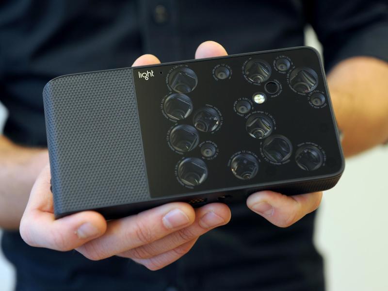 Bild zu Kamera L16 des Start-ups Light