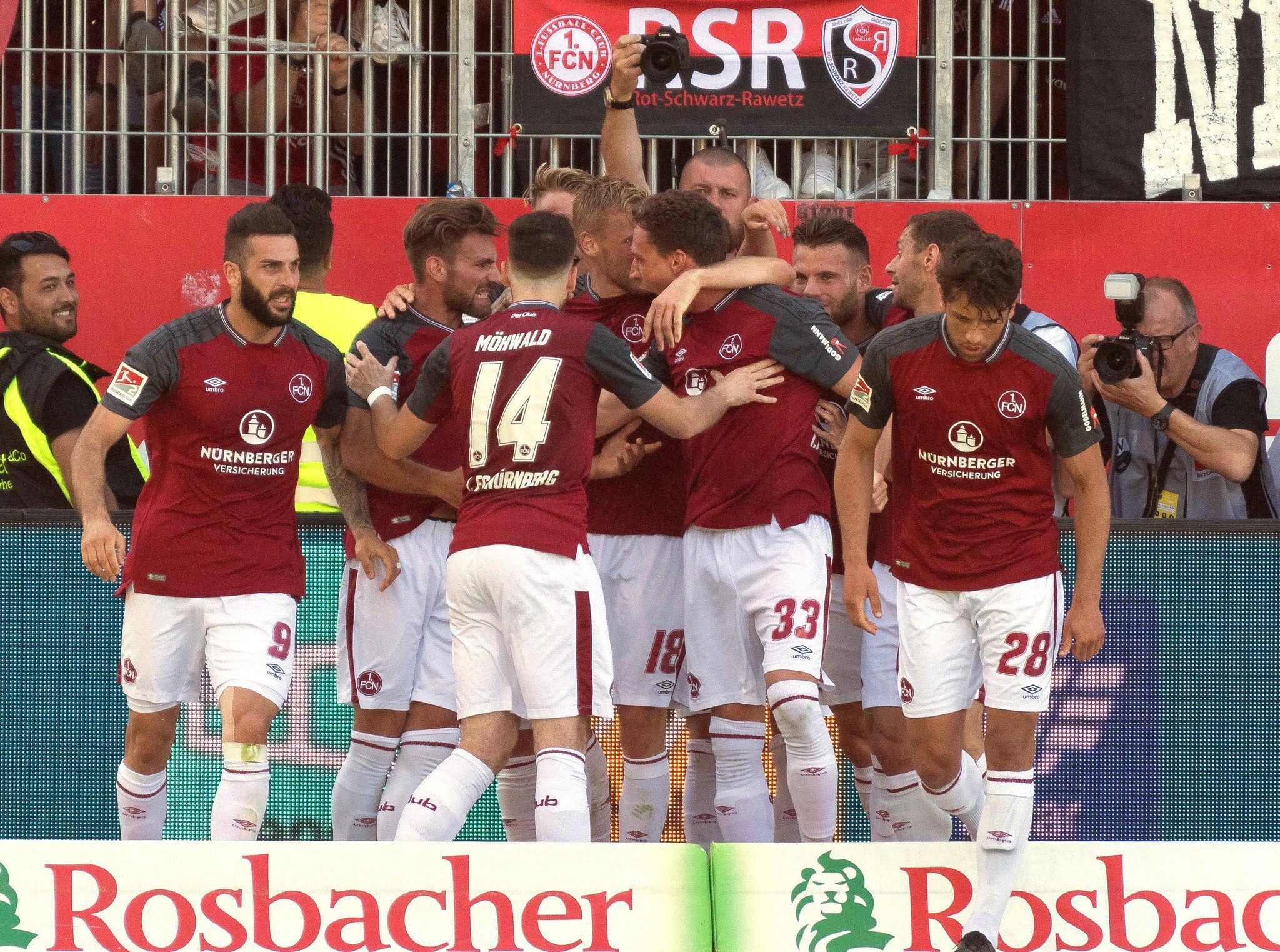Bild zu SV Sandhausen - 1. FC Nürnberg