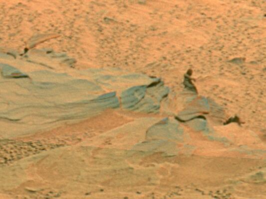 Bild zu Marsmännchen