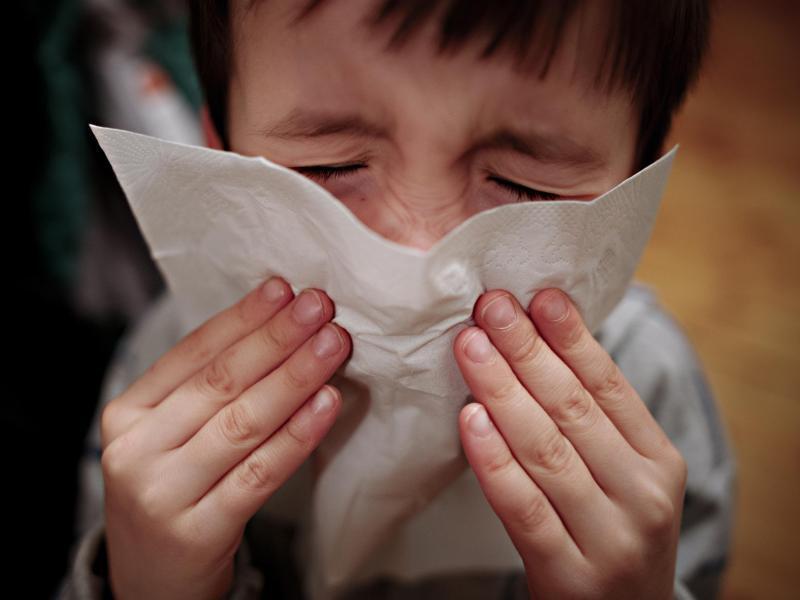 Bild zu Grippe-Patient