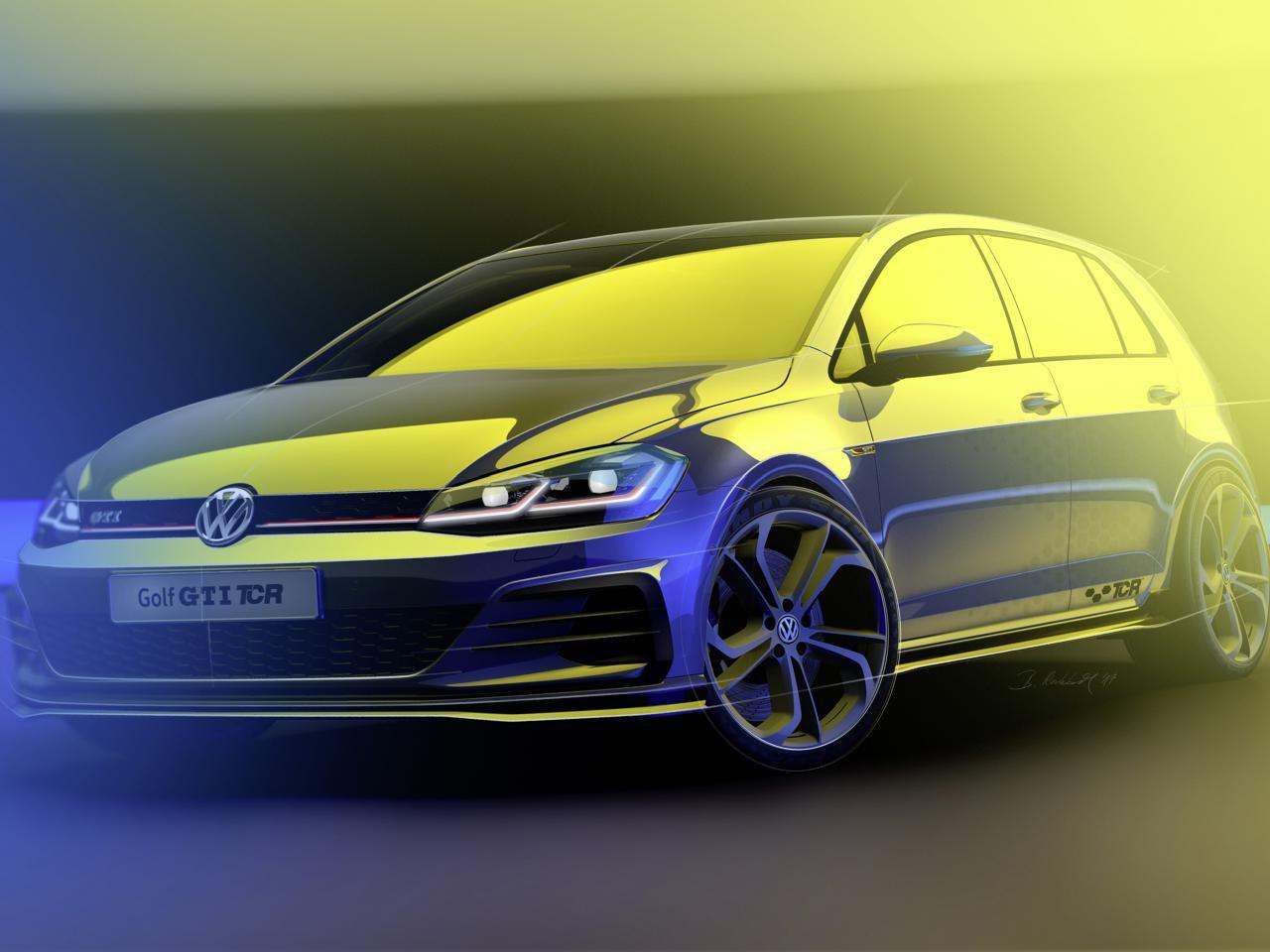 Bild zu VW Golf GTI TCR
