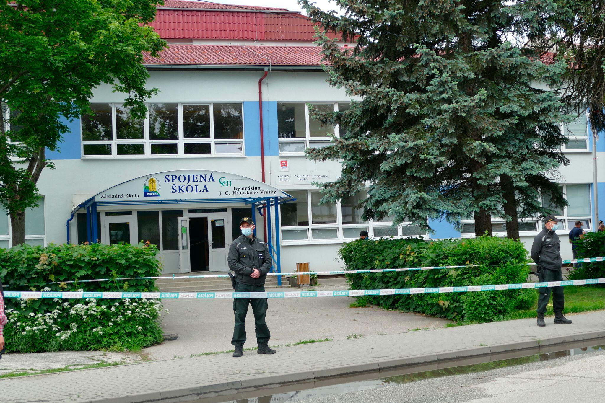 Bild zu Tödlicher Messerangriff an slowakischer Grundschule