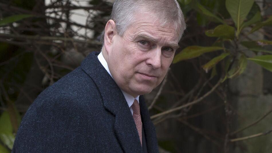 Prinz Andrew von Grossbritannien