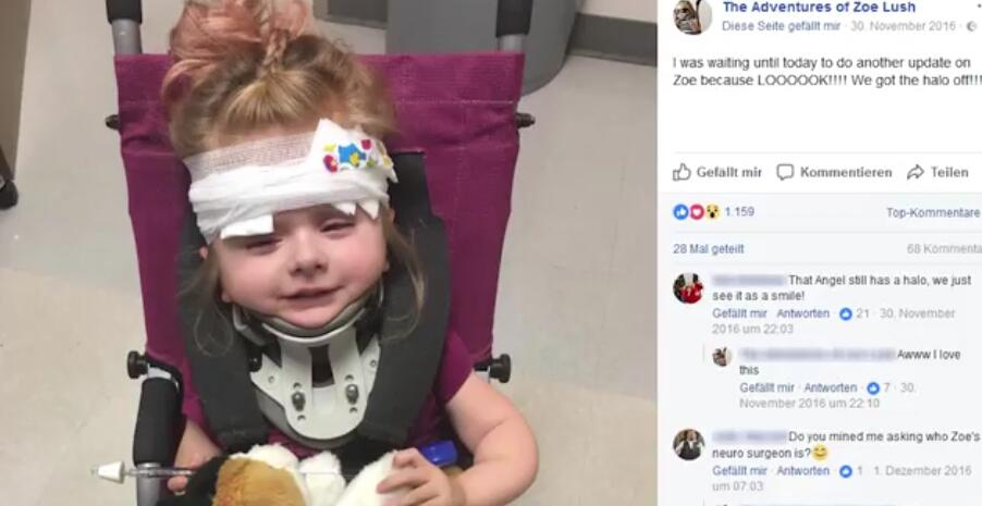 Bild zu Ärzte gaben diesem Mädchen keine Überlebenschance