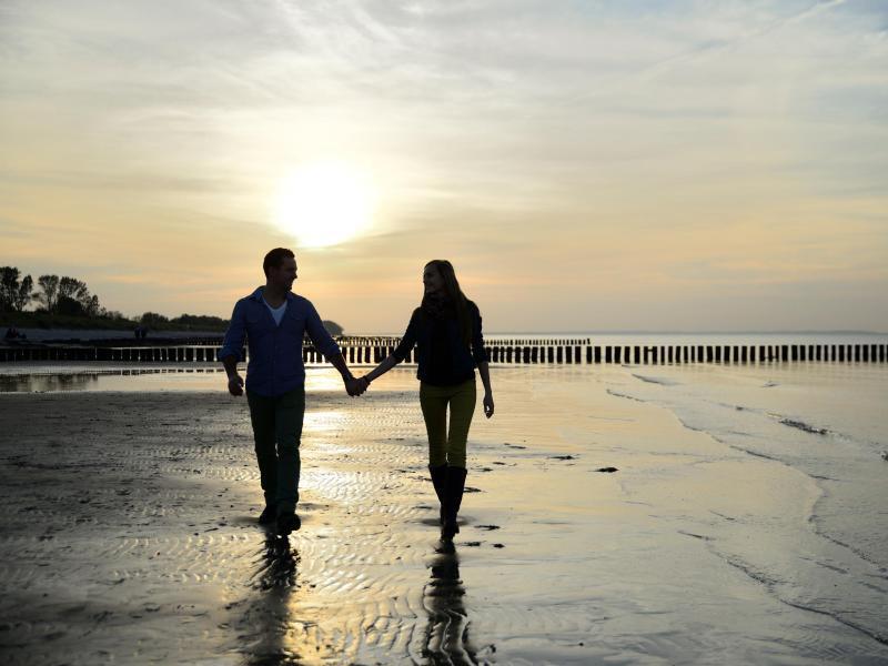 Bild zu Einsamer Strand